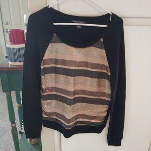 Victorias secret sequin sweatshirt sz s/p